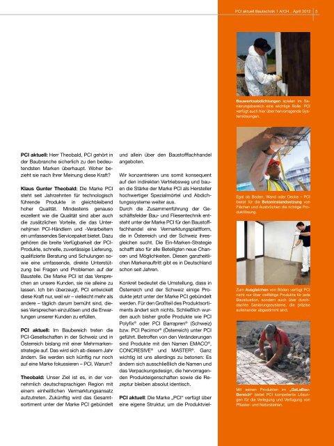 neue namen - PCI-Augsburg GmbH