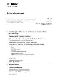 Sicherheitsdatenblatt - PCI-Augsburg GmbH