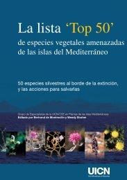 La lista 'Top 50' de especies vegetales amenazadas - IUCN