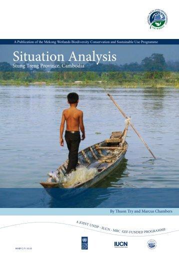 Situation Analysis - IUCN