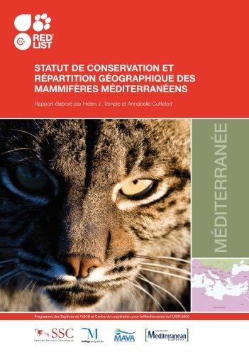 Statut de conservation et répartition géographique - IUCN