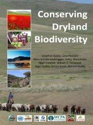 Conserving Dryland Biodiversity Book - IUCN