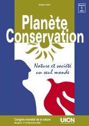 Nature et société un seul monde - IUCN