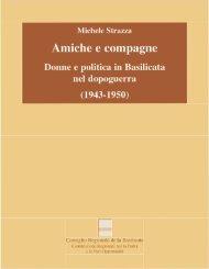 Amiche e Compagne - Consiglio Regionale della Basilicata