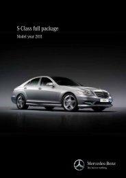 S-Class full package - Mercedes - Benz Egypt. Cairo National ...