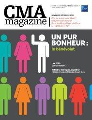 UN PUR BONHEUR: - CMA magazine