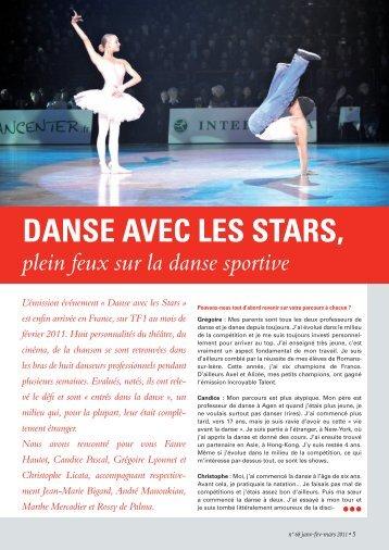 DANSE AVEC LES STARS, - Gaëlle Piton