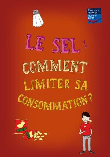 Le sel : comment limiter sa consommation ? - Dépliant
