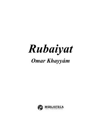 Las Rubaiyat - Osho y maestros espirituales