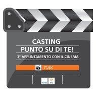 Scarica Flyer Cinema - Punto Enel Milano - Enel Energia