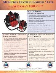 Folleto (PDF) - Mercedes Textiles Ltd