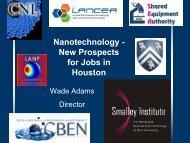 Nanotechnology - Center for Nanoscale Science and Technology ...