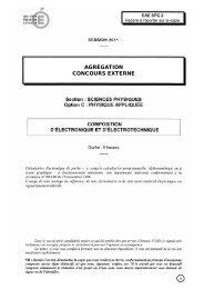 agrégation concours externe - Ministère de l'Éducation nationale