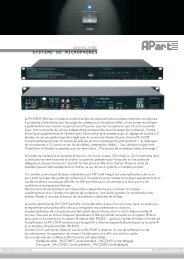Fiche produit PA-CONF.pdf - Sennheiser