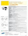 SND-7082/7082F Technologie d'avenir Caméras à ... - Samsung - Page 2