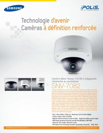 Technologie d'avenir Caméras à définition renforcée ... - Samsung