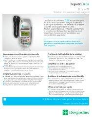Solutions de paiement pour les marchands FLEX i5310 Solution de ...