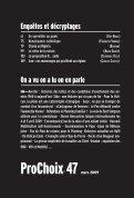 Pour télécharger le numéro - Prochoix - Page 3