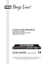 6-KANAL-LINE-MISCHPULT