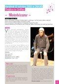 Plaquette du Théâtre Le Griffon saison 2012/2013 - MJC de ... - Page 3