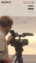Vidéo professionnelle Guide produit 2005 - Visual Impact France