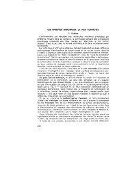 LES EPREUVES BINAURALES: LA VOIX COMMUTEE