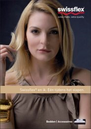 Swissflex: Bedden   Accessoires