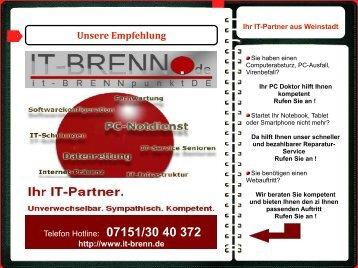 Web-Visitenkarte It-Brennpunkt