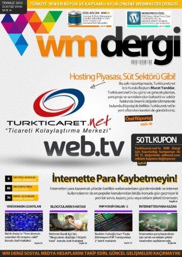 WM Dergi - 14.SAYI