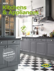 Ikea Kitchens & Appliances 2013