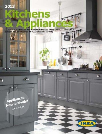 Ikea Kitchens & Appliances 2013