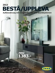 Ikea Aufbewahrungskombis Besta Uppleva 2013