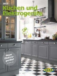 Ikea Küchen und Elektrogeräte 2013