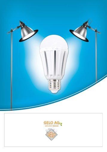 GELO AG LED LICHT ENERGIE - Katalog