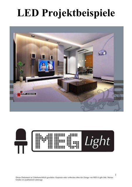 LED Projekt-beispiele by MEG-Light