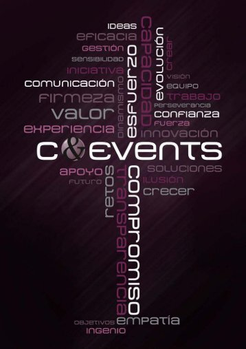 DOSSIER COMERCIAL C&EVENTS;