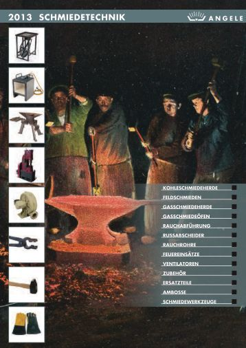 ANGELE SCHMIEDETECHNIK Katalog 2013