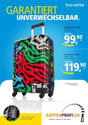 Travelite Sommerflyer 2013