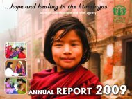 Annual Report 2009 - ADRA Nepal
