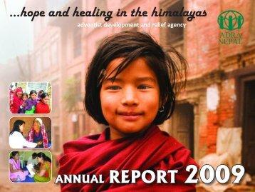 Annual Report 2009 - ADRA Nepal