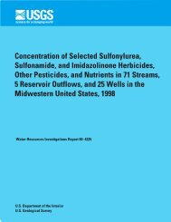 Concentration of Selected Sulfonylurea, Sulfonamide, and ...