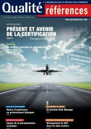 Présent et avenir de la certification QUALITE - cfpmi