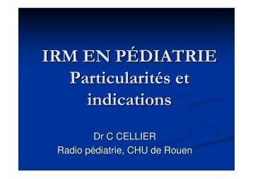 IRM Pediatrie