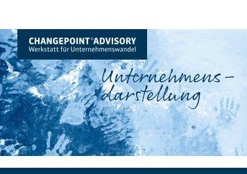 Unternehmensdarstellung Changepoint Advisory GmbH