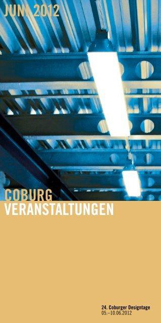 coburg veranstaltungen juni 2012 - Stadt Coburg