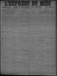 13 Juin 1907 - Bibliothèque de Toulouse