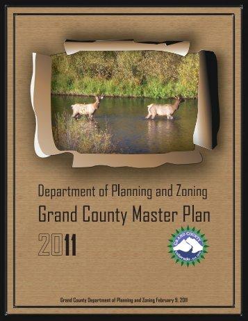 2011 Grand County Master Plan