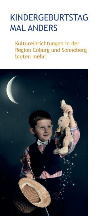 """""""Kindergeburtstag mal anders""""(PDF 6 MB) - Stadt Coburg"""
