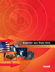 FRENCH New Export Guide #51 - Agence spatiale canadienne