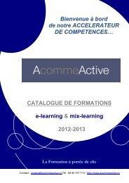 Catalogue 2012 (PDF) - AcommeActive